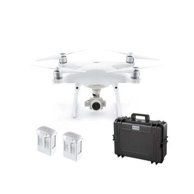 DJI Phantom 4 Pro V2.0 - Dronekuffert - 2 x Batterier