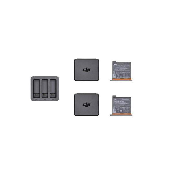 DJI Osmo Action - Ladehub + 2 x batteri