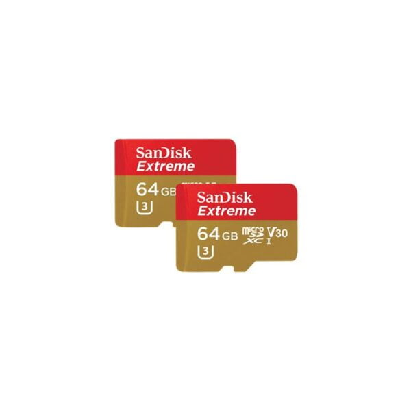 SanDisk Extreme microSDHC 64GB - 2 Stk